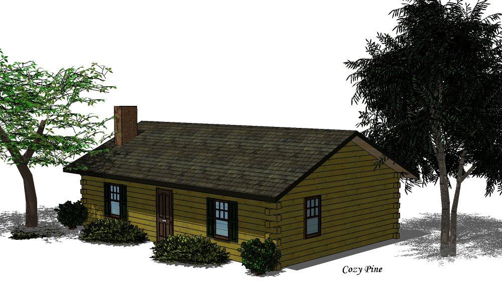 Cozy pine colorado log homes log home floor plans for Colorado log home plans