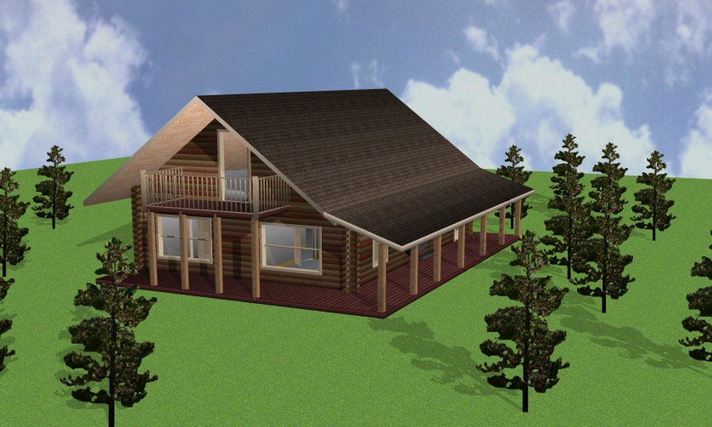 San Antonio Colorado Log Homes Log Home Floor Plans