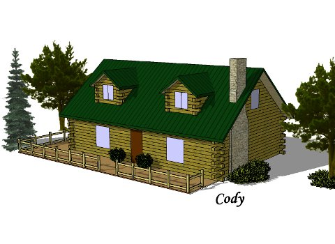 Log Home - Cody